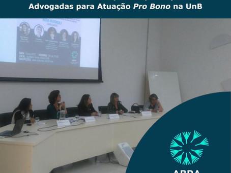 Primeiro evento do Curso de Extensão para Capacitação de Advogadas para Atuação Pro Bono movimenta o