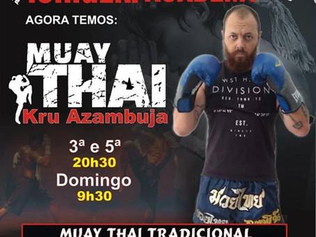 NOVA TURMA DE MUAY THAI