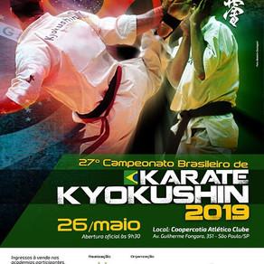 27° Campeonato Brasileiro de Kyokushin 2019
