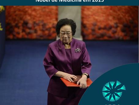 Youyou Tu - Nobel de Medicina em 2015