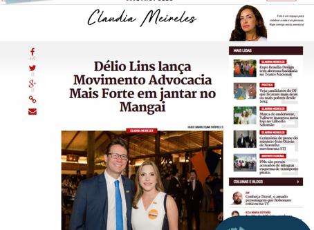 Délio Lins lança Movimento Advocacia Mais Forte em jantar no Mangai