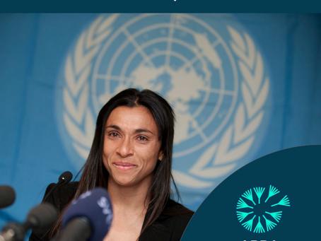 Marta Silva: Embaixadora global da Boa Vontade pela ONU