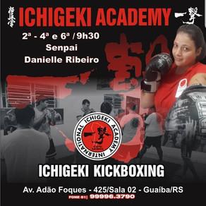 Ichigeki Kickboxing - Novos Horários. Participe!