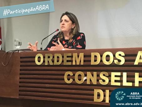 PArticipação ABRA no VI Seminário de Previdência Social da OAB/DF