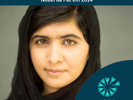 Malala Yousafzai - Nobel da Paz em 2014