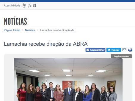 Lamachia recebe direção da ABRA