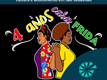 Casa Frida - cultura e acolhimento em São Sebastião