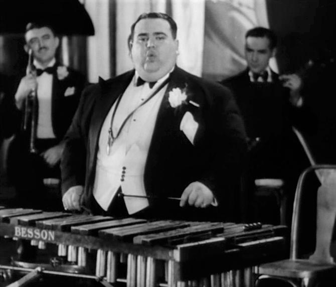 Elstree Calling Xylophonist Teddy Brown