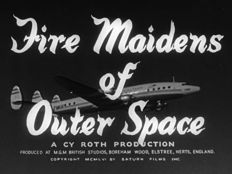 Thanksgiving Turkeys: Fire Maidens of Outer Space (1956)