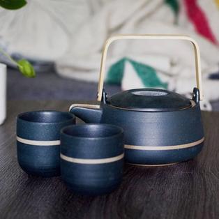 Orb Teapot & Teacups