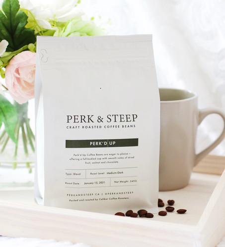 Perk'd Up Coffee Beans