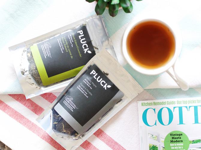 Pluck loose-leaf teas