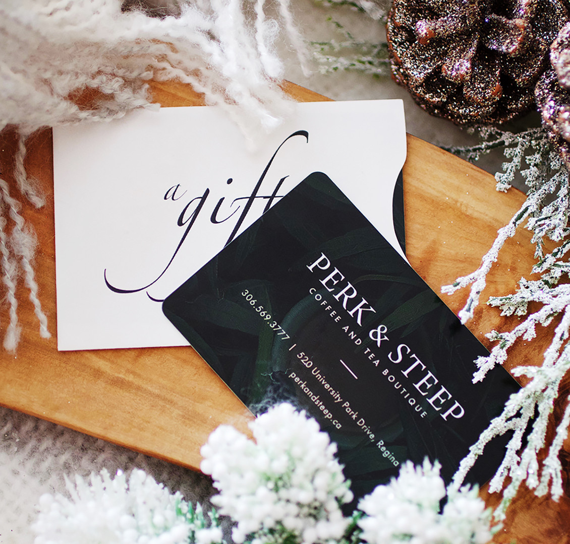 Perk & Steep Giftcards