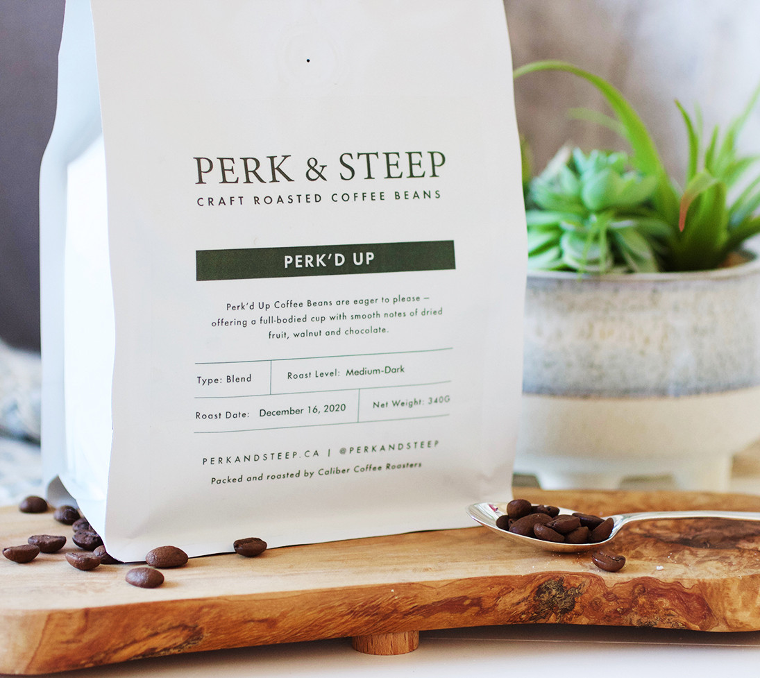 Perk'd Up Coffee Beans