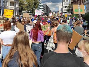 Klimastreik in Wiesbaden