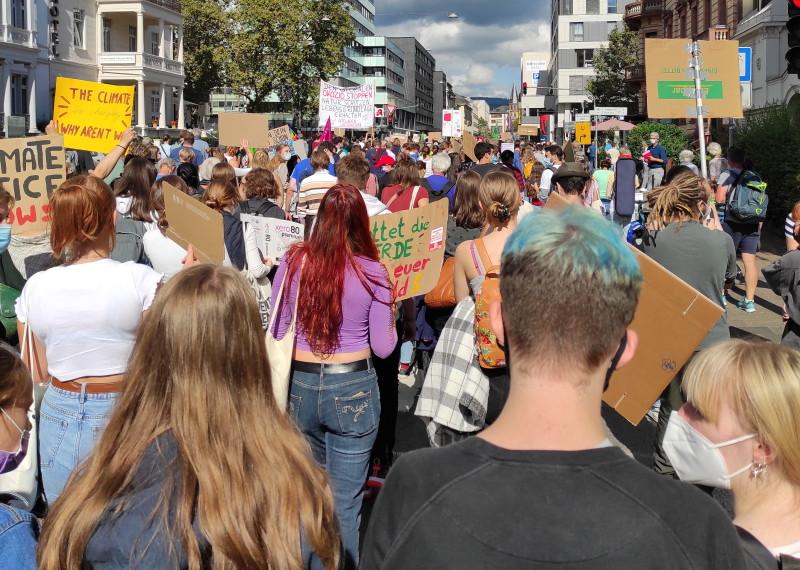 Klimastreik am 24.09.2021 in Wiesbaden
