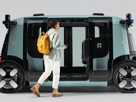 Zoox: carro autônomo da Amazon é revelado oficialmente