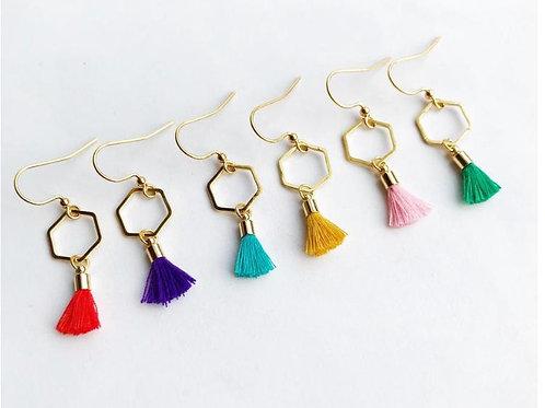 Jack & Freda Tassel Earrings