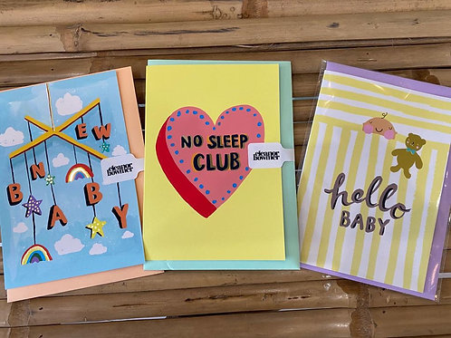 Eleanor Bowmer Baby Card Selection