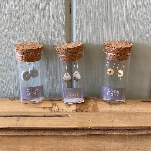 One & Eight Earrings