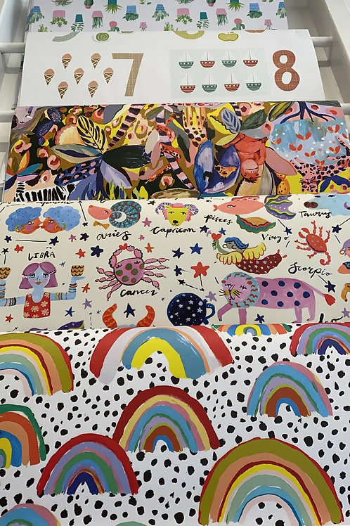 Selection of Gift Wrap
