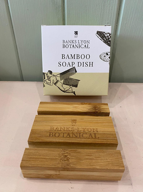 Banks Lyon Botanical Bamboo Soap Dish