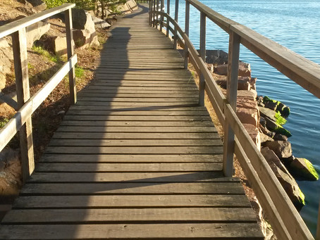 Att ta det stora steget, ut ur min bekvämlighetszon, och påbörja en ny väg.