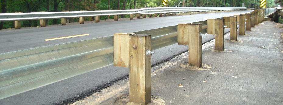 Treated Guardrail Posts