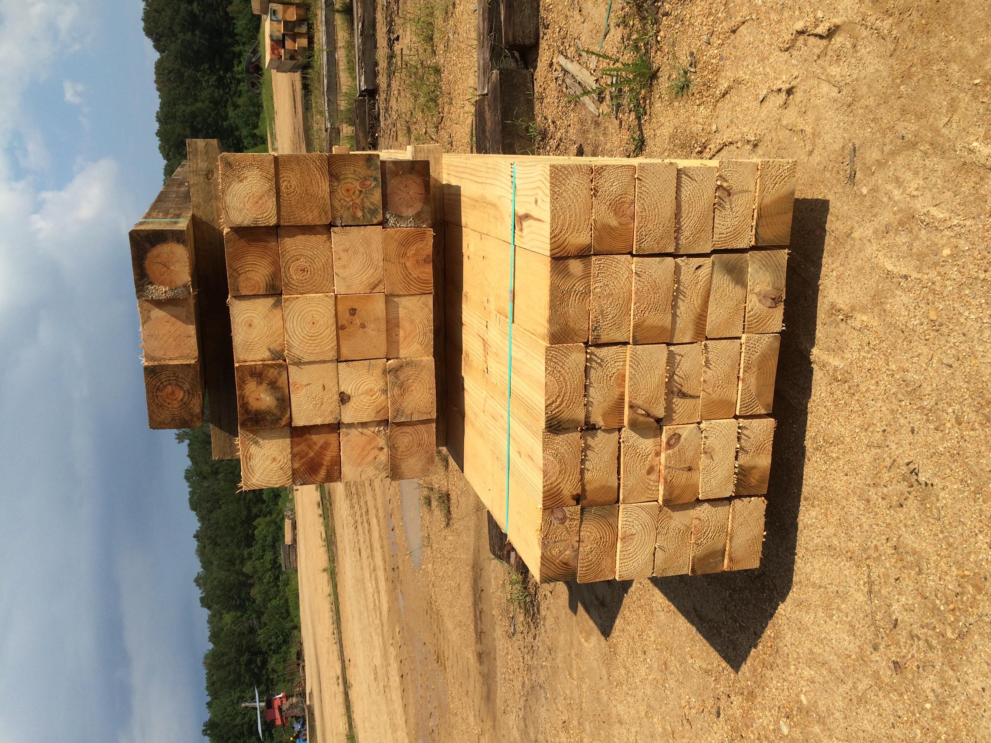 """4""""x8""""x16' Guard timbers"""