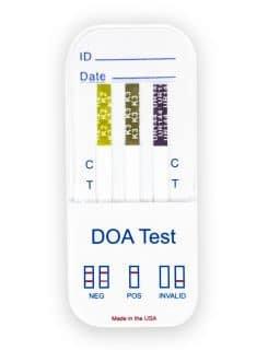 Synthetic Marijuana (K2, K3, K4) 3 Panel Urine Dip Card (25 Test per Box)