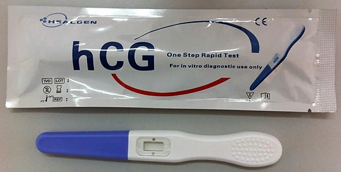 Healgen (hCG) Pregnancy One-Step Rapid Test Midstream (20Test per Box)
