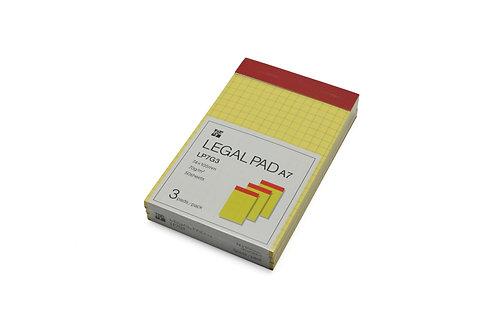 Legal Pad A7 74×105mm Grid