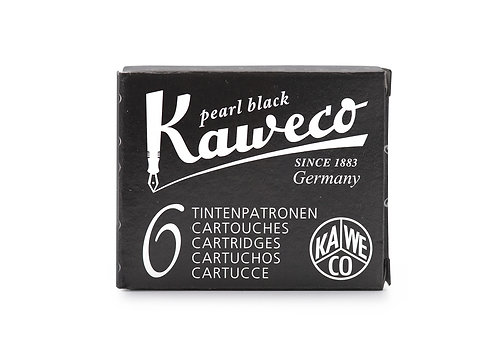 Kaweco Ink Cartridges 6-Pack Pearl Black