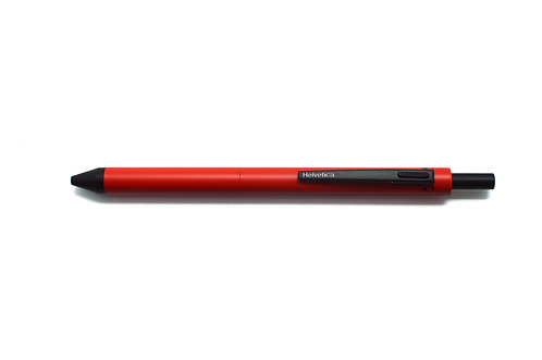 Helvetica Multi Functional Pen  4 in 1 Red