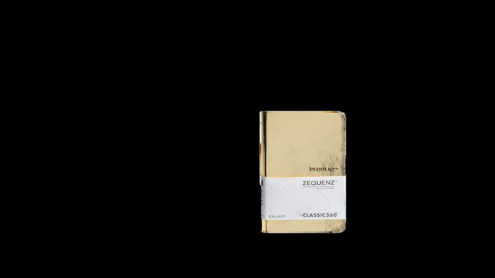 ZEQUENZ New Galaxy A6- Glossy Gold