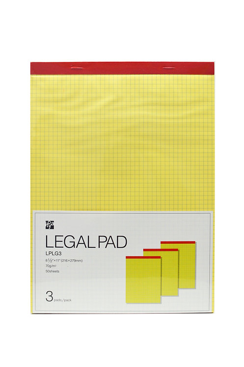 Legal Pad L 8.5×11 in. Grid
