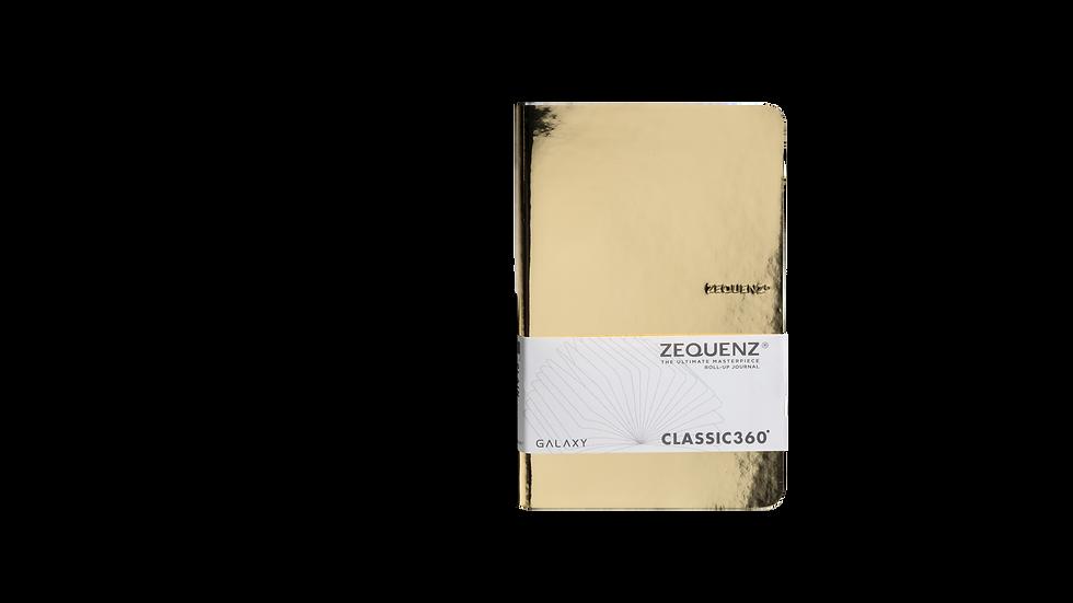 ZEQUENZ New Galaxy A5 Slim Glossy Gold