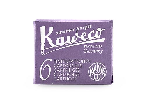 Kaweco Ink Cartridges 6-Pack Summer Purple
