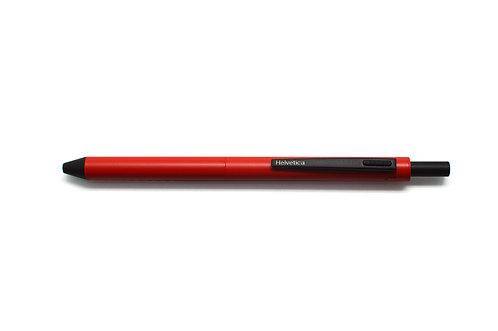 Helvetica Multi Functional Pen  3 in 1 Red