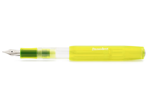 Kaweco ICE Sport Fountain Pen Yellow