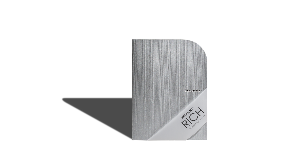ZEQUENZ Rich A5 Acasia Gray Traditional Binding