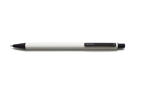 Helvetica Mechanical Pencil 0.5mm White