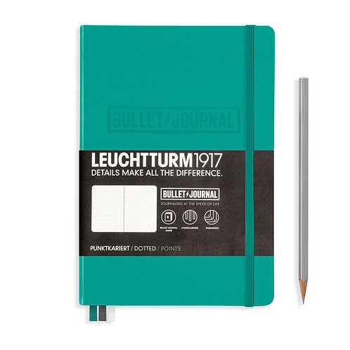 Leuchtturm1917 Bullet Journal Notebook Emerald