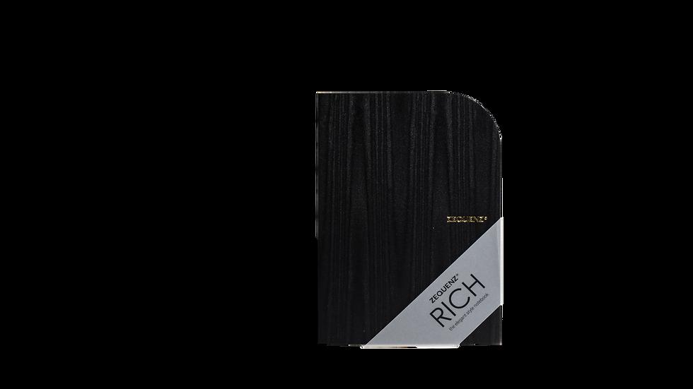 ZEQUENZ Rich A5 Acasia Black Traditional Binding