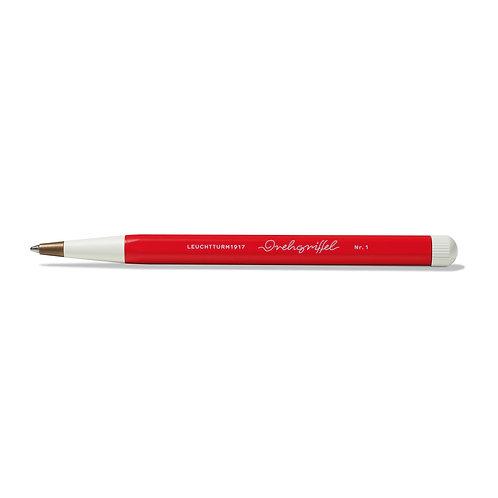 Leuchtturm1917 Drehgriffel Twist Pen Medium Ballpoint Red