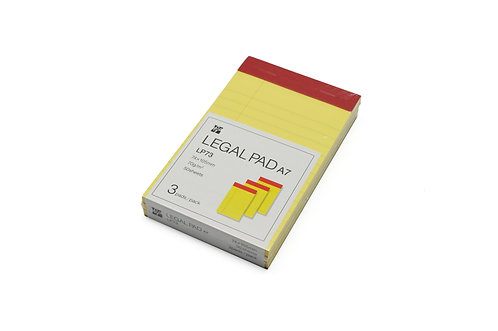 Legal Pad A7 74×105mm Ruled