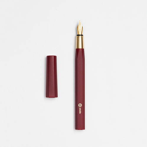 Resin Fountain Pen Red