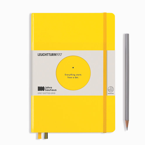 Leuchtturm1917 100 Years Bauhaus Notebooks Lemon