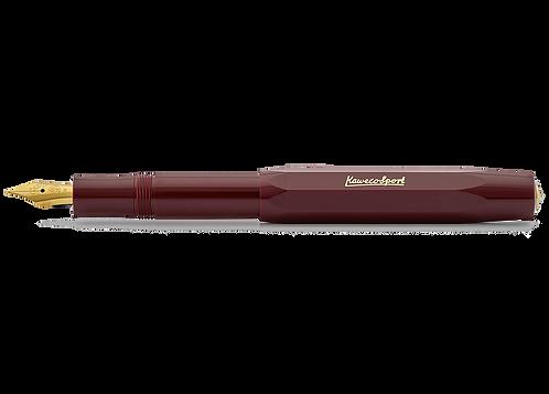 Kaweco CLASSIC Sport Fountain Pen Bordeaux