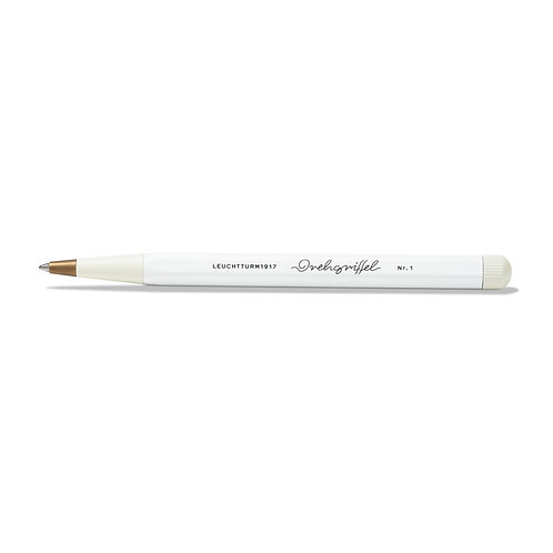 Leuchtturm1917 Drehgriffel Twist Pen Medium Ballpoint White
